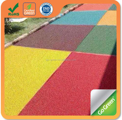 Sports running track color asphalt / cold mix asphalt color coating / coloured asphalt