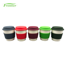 High Strength Non-Fragile Reusable Travel Bamboo Fiber Coffee <strong>Cup</strong>