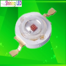 Wholesale Epileds Chip Deep Red High Power Chipset LED 660nm 3W for Plant grow lighting lamp