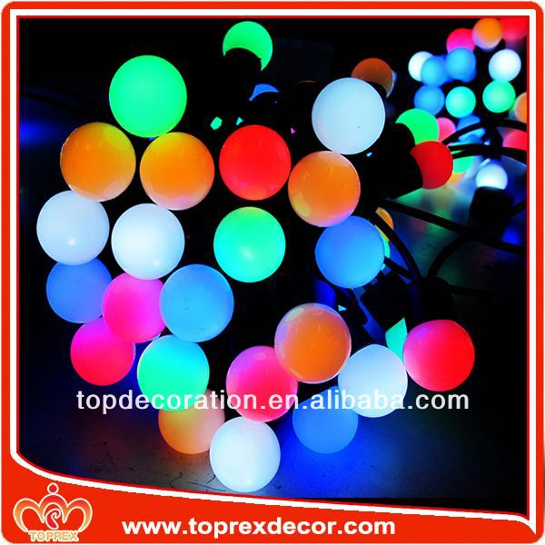 PVC Copper wire cane ball decoration lights