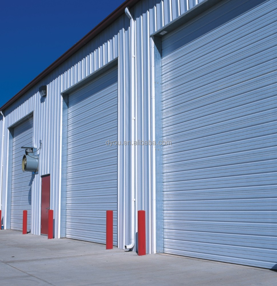 Chinese large rolling garage door buy rolling garage for Oversized garage doors