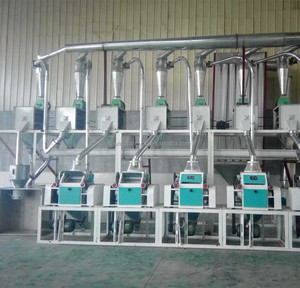 20ton per day low price small scale garin corn wheat flour processing mill plant uses wheat flour milling machine