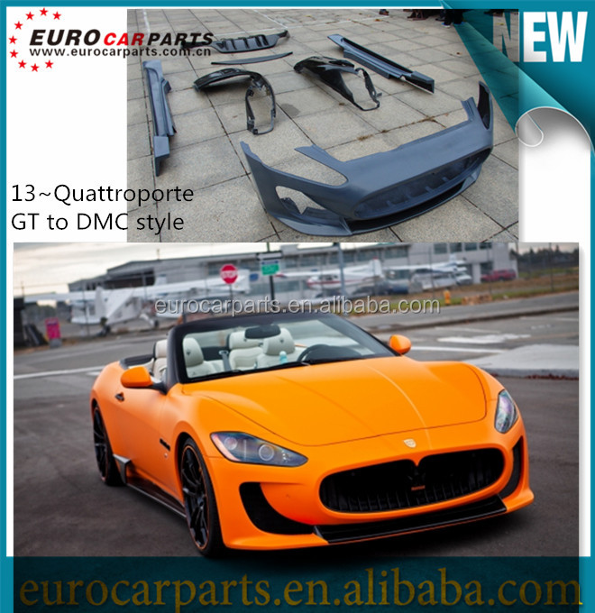 High quality Newest kit Quattroporte GT design upgrating to DMC design body kit for Maserati Quattroporte GT 2013~