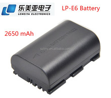Digital Battery LP-E6 for Canon EOS 5D 5D2 5DS R Mark II 2 / III 3 6D 60D / 60Da 7D 7D2 7DII 70D 80D
