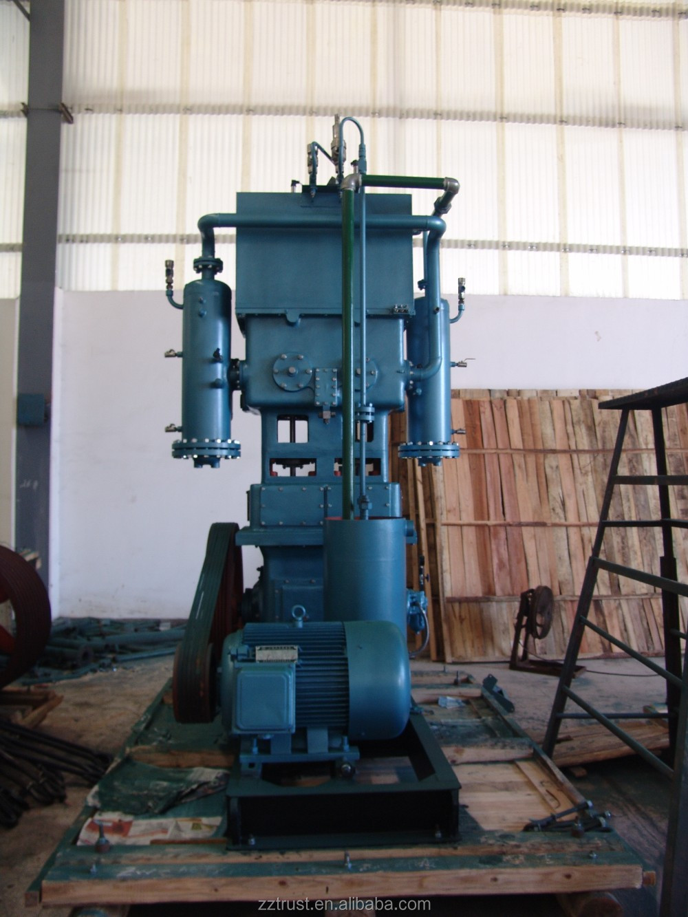 portable type oxygen compressor ZW type non-lubrication <strong>O2</strong> compressor oxygen compressor worked for industry in selling