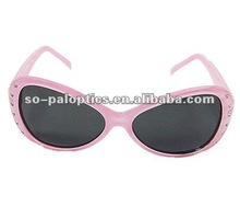 Kids Plastic Sunglasses Frame With Stone