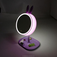 Rechargeable Funny Shape LED Make Up Mirror Table Lamp