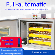 Automatic poultry hatchery chicken egg incubator