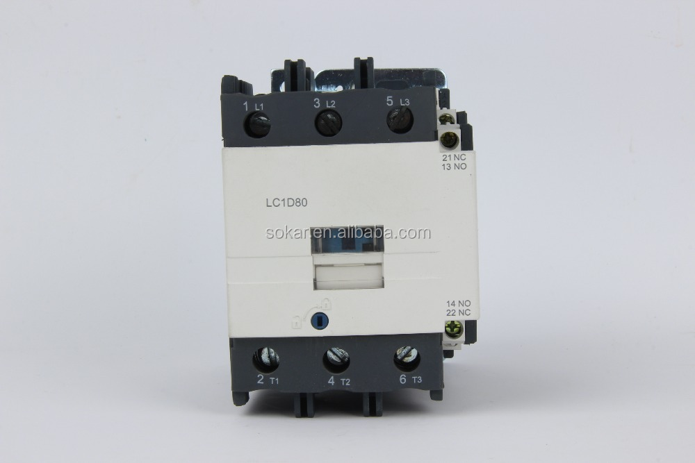 CJX2 lc1-d New telemecanique 80a electrical magnetic types of AC Contactor