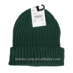 2019 New Fashion Custom Hot Sale Recycle Women Basic Beanie Hat b7dd18e07e42
