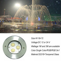 High Power DMX Outdoor LED Underwater Fountain Light For Swimming Pool/Pond/Lake