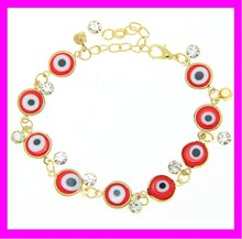 K6624 New products turkey evil eyes bracelets jewelry wholesale evil eyes gold beads jewelry