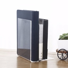 Luxury clear lucite perspex acrylic bookend for organizer