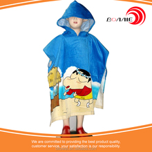 Baby Surf Hooded Poncho Towel Plain Hooded Poncho Towels For Kids