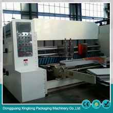 High efficiency small carton machine 3color cardboard box printing machine