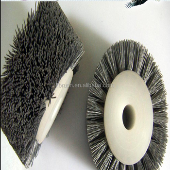 Abrasive Disc Type abrasive roller brush