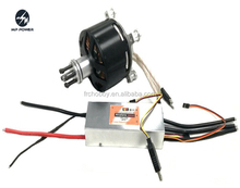 15KW outrunner bldc motor for 40kg UAV Drone with 22s 380A esc