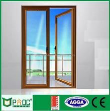 Used Balcony Exterior Aluminum Casement Door partition For Houses