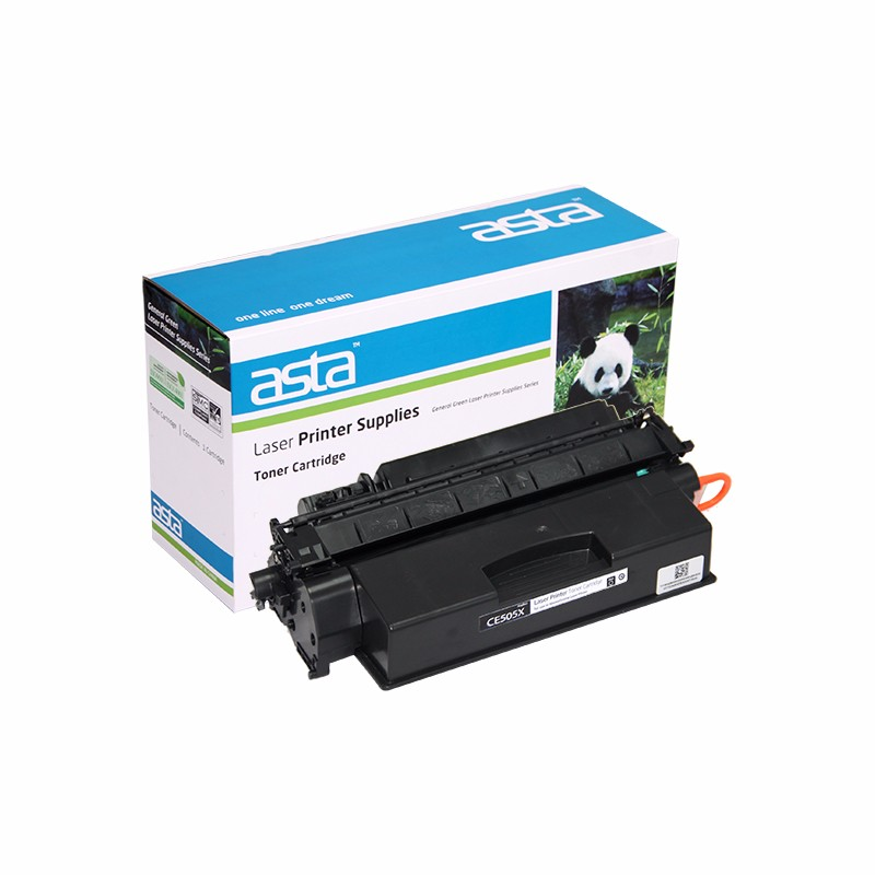 ASTA CE505X 05X Compatible Toner Cartridge used for HP LaserJet Printer P2055(6500 pages)