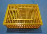 Agricultural plastic crates for chicken transportation ,live chicken transport crate basket /cage