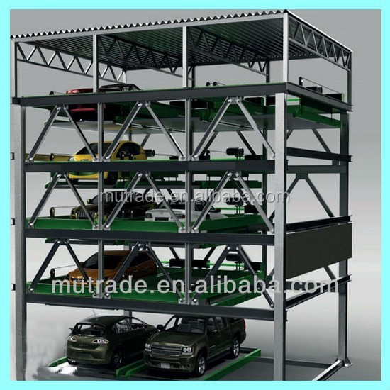 Multi-level Vertical Car Parking Solutions japanese car parking system