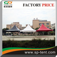 Galvanized steel frame marquee tent 6x6m /white or red or black 6mx6m marquee tent wholesale prices