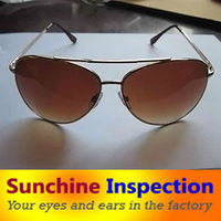 Optical Frames & Eyeglasses / Pre-shipment inspection / Container Loading Check / Professional Quality Control in China
