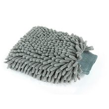 High Performance Chenille Microfiber Soft Durable double-stitched elastic cuff Car wash mitt