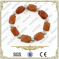new products 2014 Health Benefits infrared germanium handmade beaded hematite gps bracelet for children