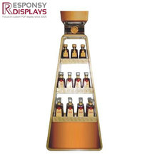 Creative Metal Whisky Wine Display Stand
