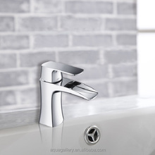 Casting Brass Chrome Plating Waterfall Basin Faucet