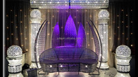 2016 New hot lighting mandap , indian wedding mandap designs , lotus mandap