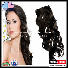 hot sale full cuticle 100% virgin remy brazilian hair attachment for braids