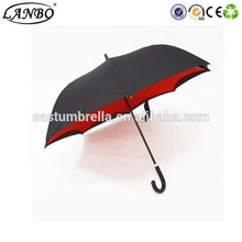 Beautiful unique cheap reverse inverted umbrella reverse folding umbrella
