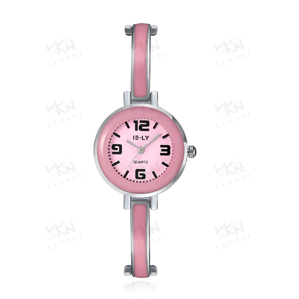 China branded charming pink watch, competitive price watch