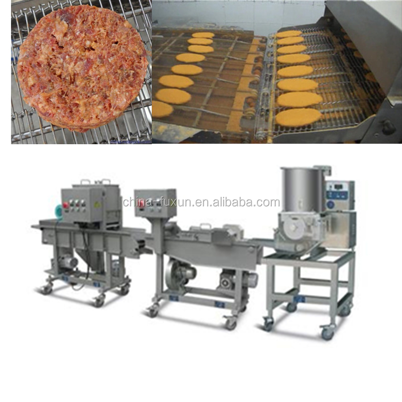 Automatic beef machine steak meat/Meat Pie burger maker machine