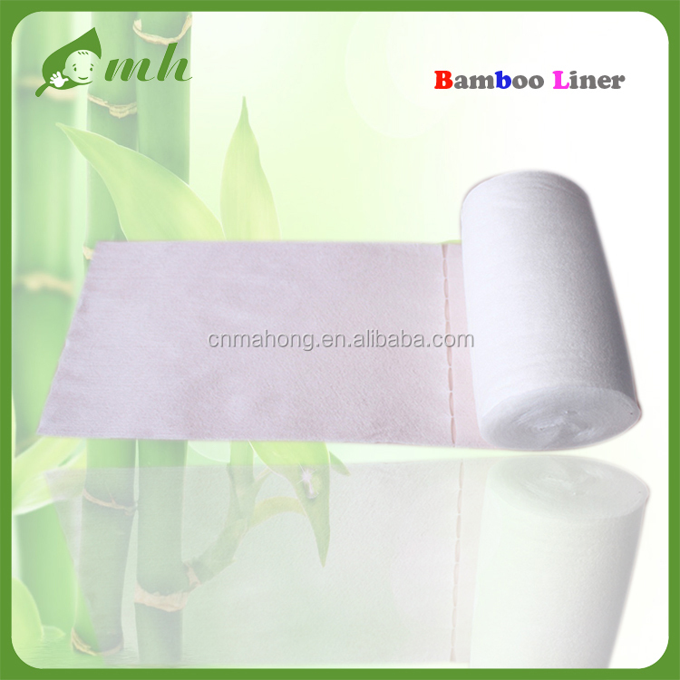 Flushable Bamboo Cloth Diaper Liners Nappy Diaper Liner