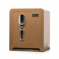Reinforced hardplate commercial grade biometric jewelry depository safety box for hotel