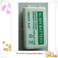 9v battery 110mah nimh 9v rechargeable battery for electric car toys