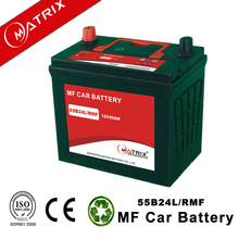 12v 45ah Rechargeable mf auto car battery 55b24r