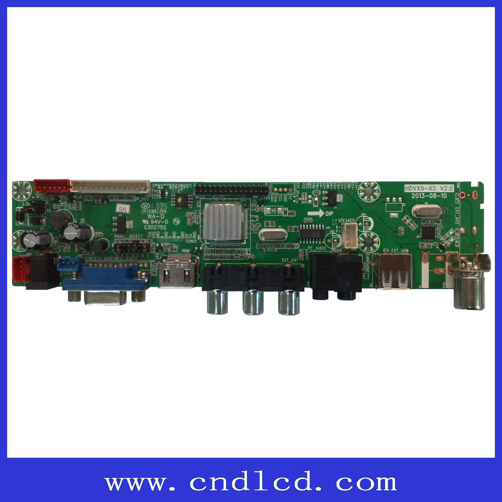 Low Price LCD / LED TV Spare Parts Universal Driver Board
