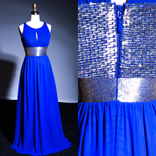 long emerald blue spanish style evening dress