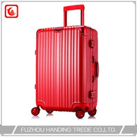 aluminum trolley flight case , custom aluminum suitcase