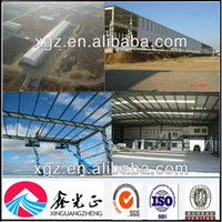 Hot Sale Africa Project Prefab Steel Warehouse/Factory/Shed