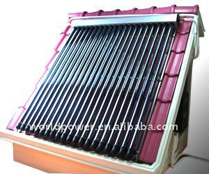 Flat Panel Solar Water Heater Project