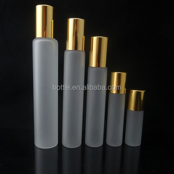 3ml 5ml 10 ml 15ml 20ml Frost Glass Empty Roller Ball Aromatherapy Roll-on Bottles Container