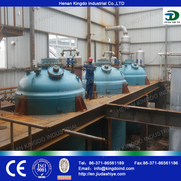 2014 China Factory Hot Sale Used Cooking Oil For Biodiesel