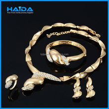 18k gold jewelry set, african animal and women sex image jewelry set