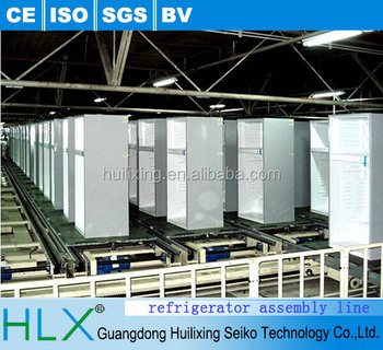 China manufacture refrigerator assembly line