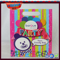 2015 New Products Custom/Wholesale Recyclable kids birthday party gift bags